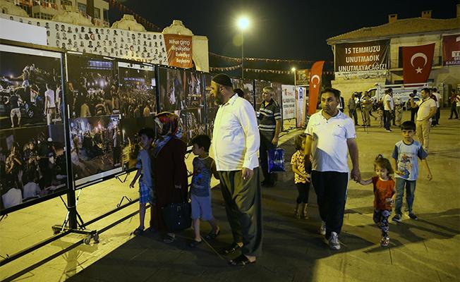 Şanlıurfa'da AA Fotoğraflarıyla 15 Temmuz Sergisi