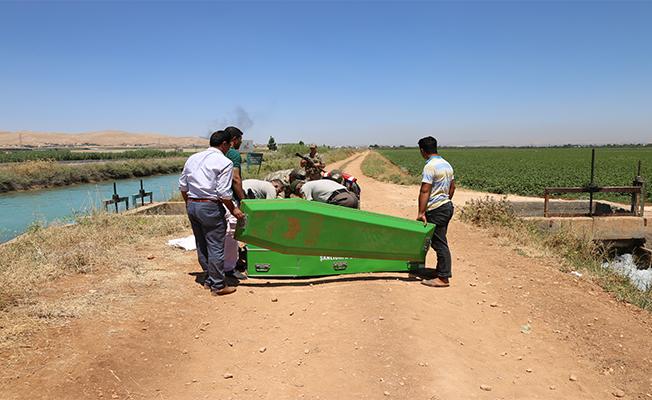 Şanlıurfa'da Sulama Kanalında Ceset Bulundu