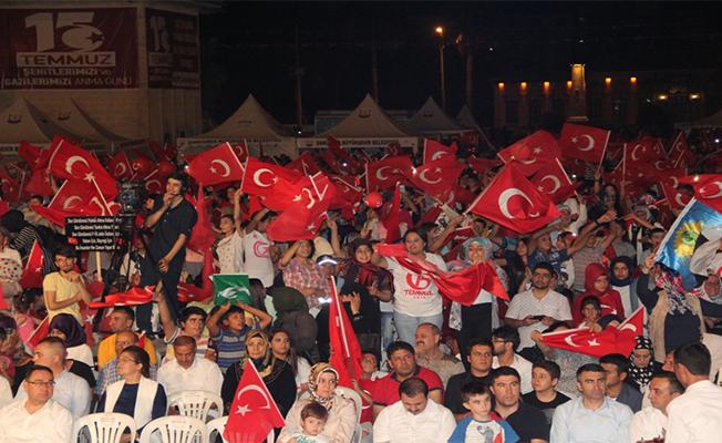 Şanlıurfa Yine Tüm Türkiye'ye Mesaj Verdi