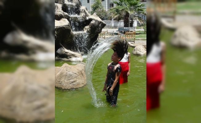 Şanlıurfa'da kavurucu sıcak etkisini sürdürüyor
