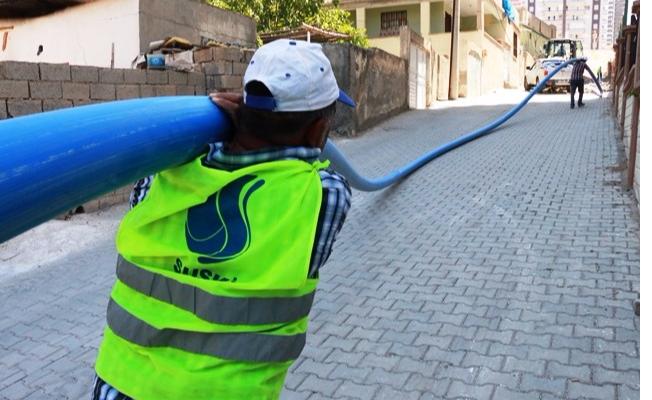Urfa İçme Suyu Yenileme Çalışmaları Devam Ediyor