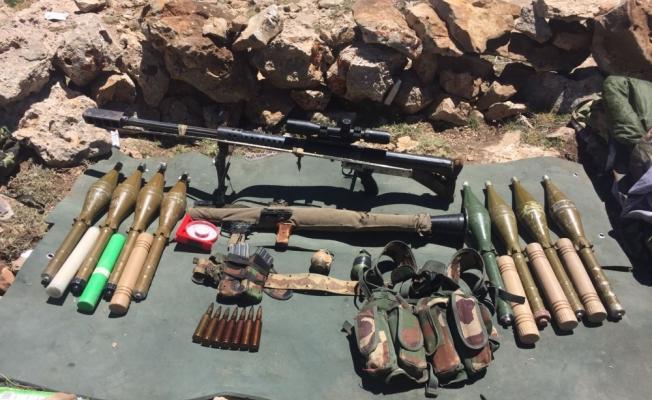Yazlıca Herekol Dağı'nda PKK'nın