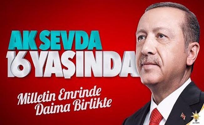 AK Parti'nin 16 Yıllık Tarihi