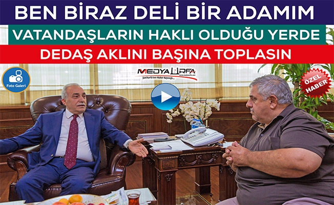 Bakan Fakıbaba, Sedat Atilla'ya Konuştu
