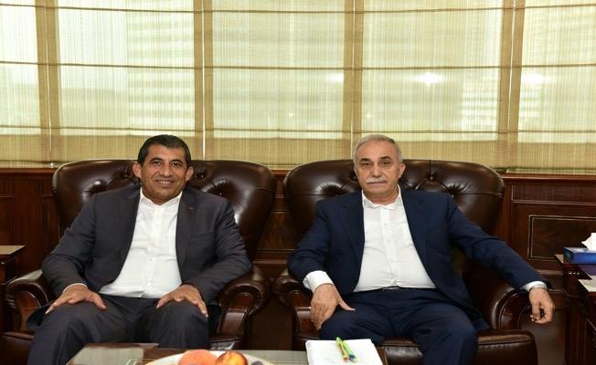 Başkan Atilla, Bakan Fakıbaba ile Görüştü