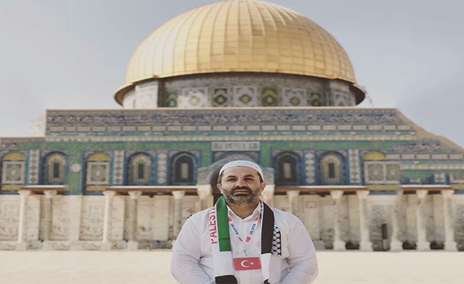 Başkan Barut: Kudüs'e Sahip Çıkmalıyız