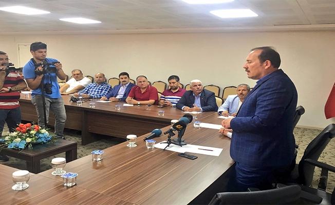 Harun Karacan Urfa'daki STK'lar ile Buluştu