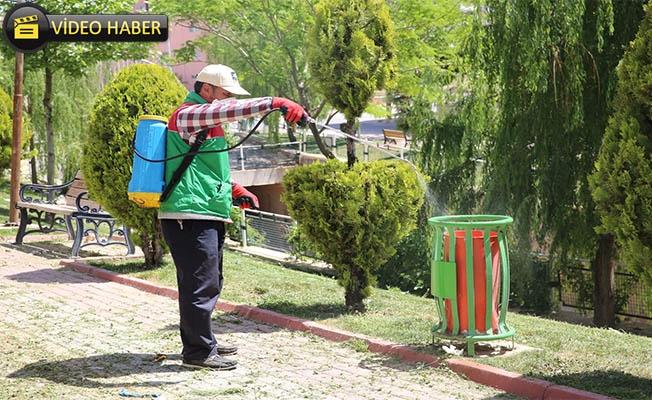 Karaköprü'de Sivrisinek ve Haşereyle Mücadele Sürüyor
