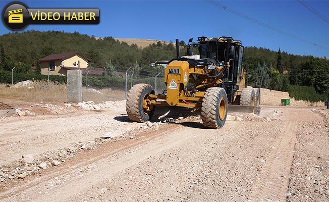 Karaköprü Güllübağ'da Yeni Yollar Açılıyor