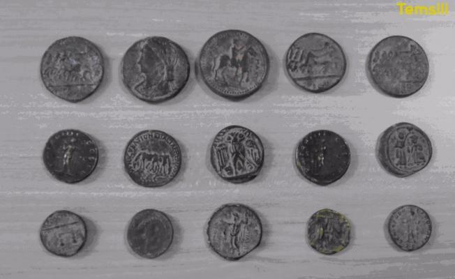 Urfa'da Bizans dönemine ait sikke ele geçirildi