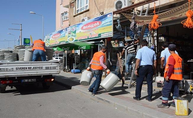 Siverek'te ''Çöpler Çöp Kutusuna'' Kampanyası