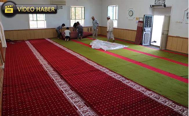 Urfa'daki İbadethanelerin Halı İhtiyacı Karşılanıyor