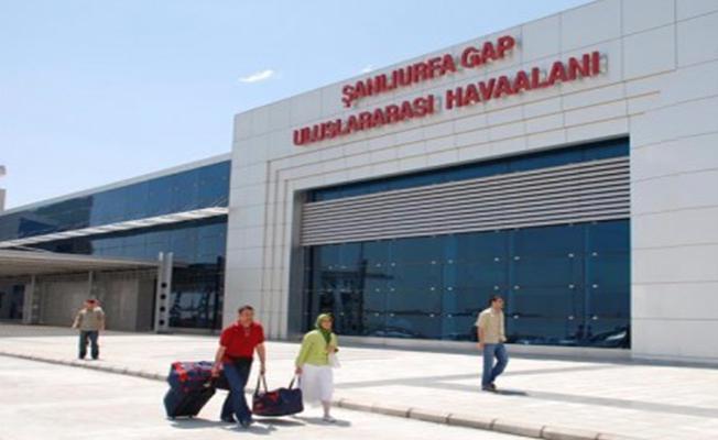Şanlıurfa Gap Havalimanından uçan yolcu sayısı