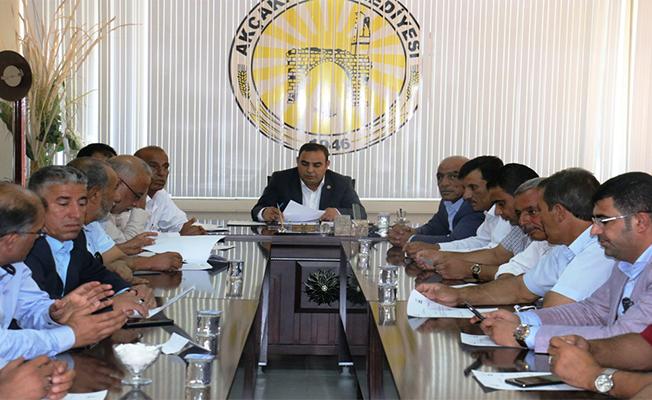 Akçakale Belediyesi Eylül ayı meclis toplantısı yapıldı