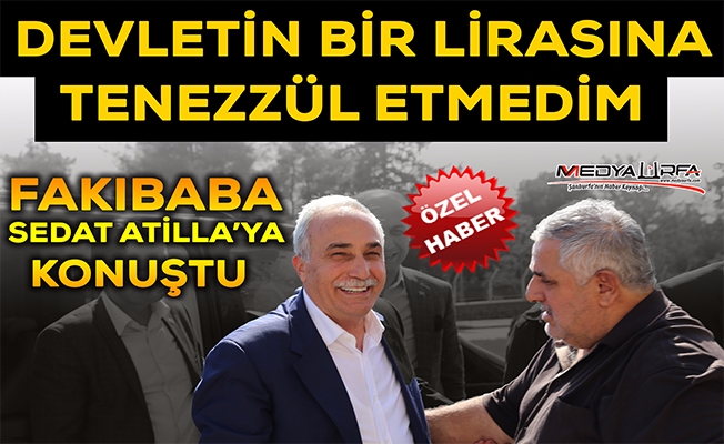 Bakan Fakıbaba, Gazeteci Sedat Atilla'yı Ziyaret Etti