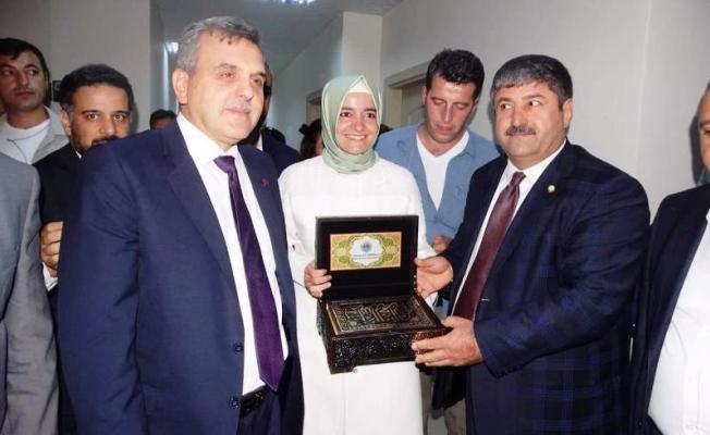 Bakanlar Eyyüpoğlu'nu Ziyaret Ettiler