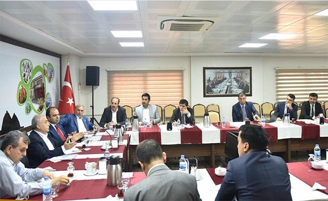 Başbakan'ın Gelişi Öncesi Değerlendirme Toplantısı