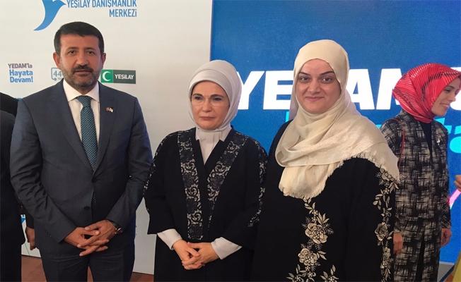Başkan Ekinci, YEDAM'ın programına katıldı