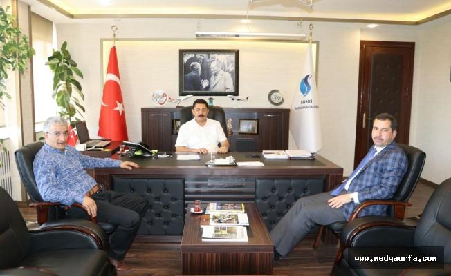 Başkan Baydilli, ŞUSKİ Genel Müdürü ile Görüştü