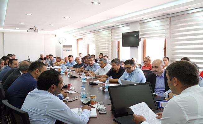 DSİ'de projelerin koordinasyon toplantısı gerçekleşti