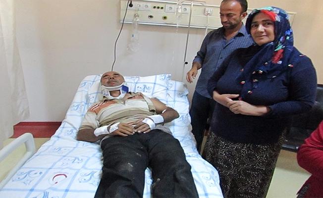 Gaziantep'te traktör devrildi: 25 kişi yaralandı