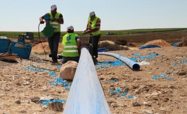 Hilvan'ın Kırsal Mahalleleri İçme Suyuna Kavuşuyor