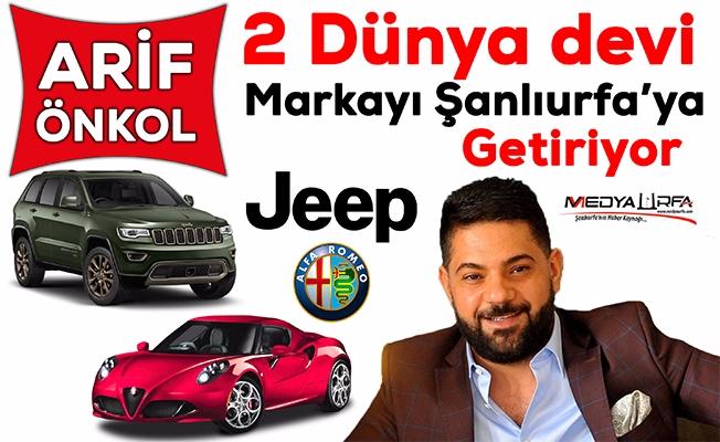 Jeep ve Alfa Romeo Şanlıurfa'da