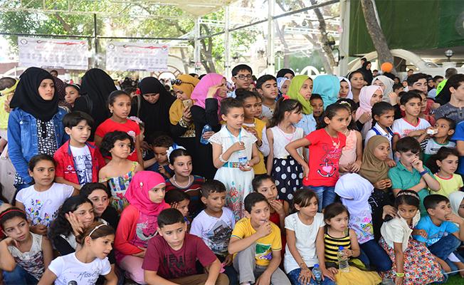 Kuveyt ve Suudililerden Urfa'da Çocuklara Eğlence Programı