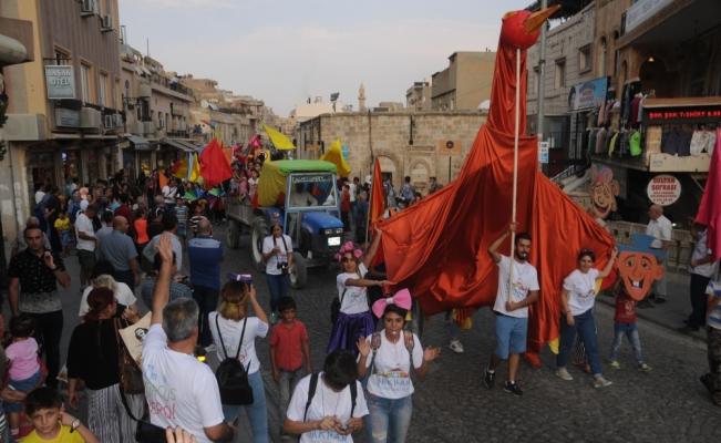 """Mardin'de """"7. Uluslararası Sosyal Sirk"""" festivali başladı"""