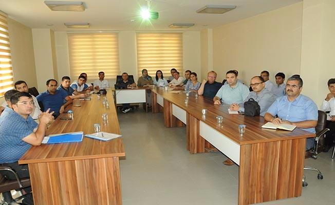 Şanlıurfa'da kamu personeline KİK eğitimi