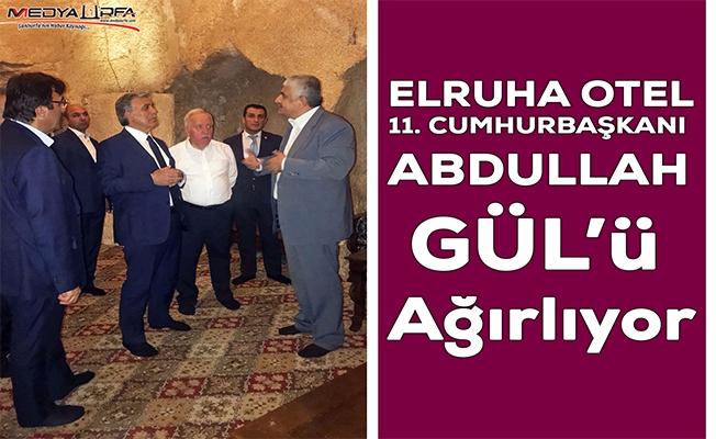 Abdullah Gül, Şanlıurfa'da onuruna verilen yemeğe katıldı