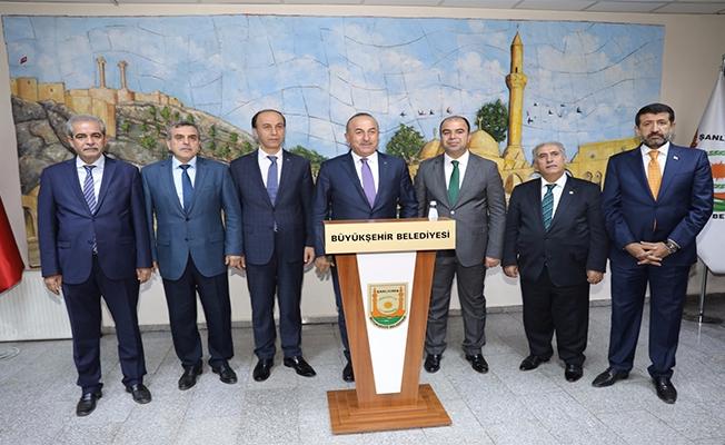 Bakan Çavuşoğlu Büyükşehir Belediyesinde