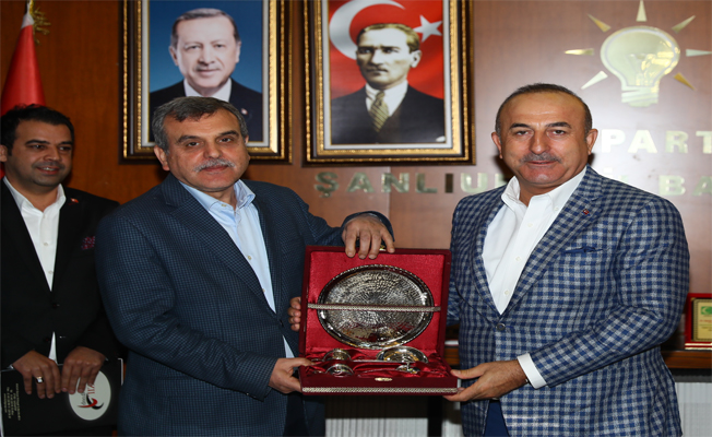 Dışişleri Bakanı, Başkan Beyazgül'ü ziyaret etti