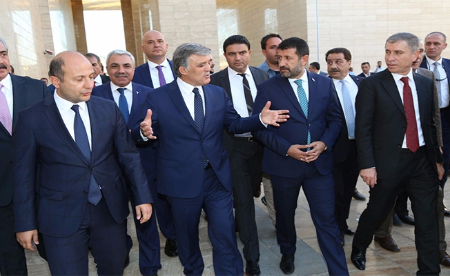 Ekinci, Abdullah Gül'e Kent Müzesini tanıttı