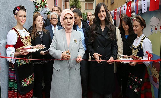 Emine Erdoğan Sırbistan'da TİKA Projesini Açtı