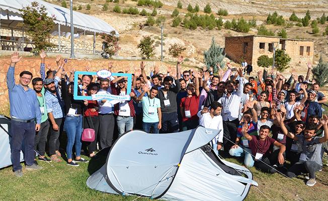 Gençlerin Suriyeli akranlarıyla yaptığı kamp tamamlandı