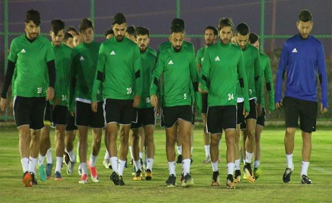 Lider Urfaspor Sakarya hazırlıklarına başladı