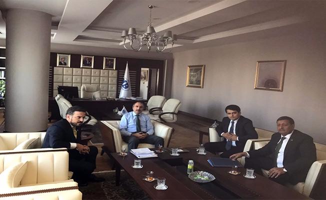 Başkan Özyavuz ve Kaymakam Çelik, Harran için Ankara'da