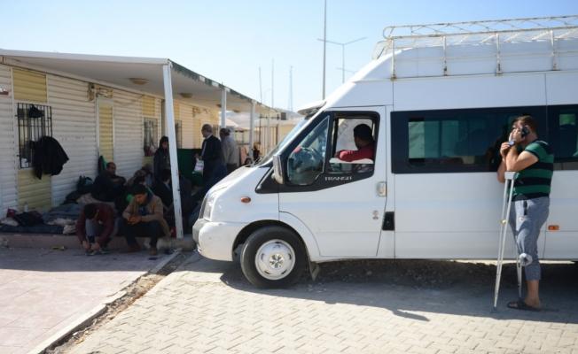 Suriyeli 40 kişilik grup ülkesine döndü