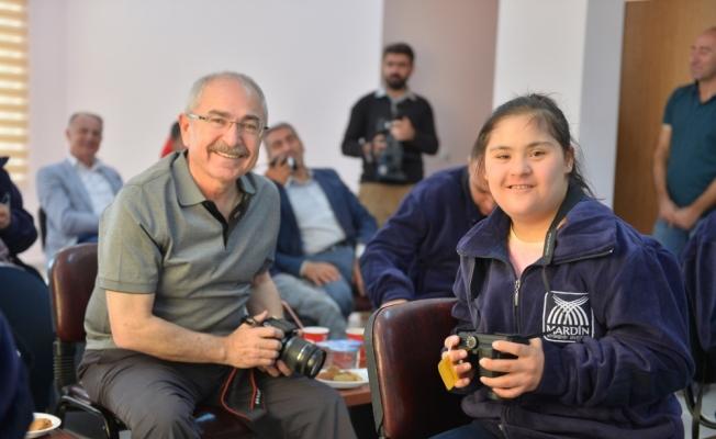 """Mardin'in """"engelsiz fotoğrafçıları"""" olacaklar"""