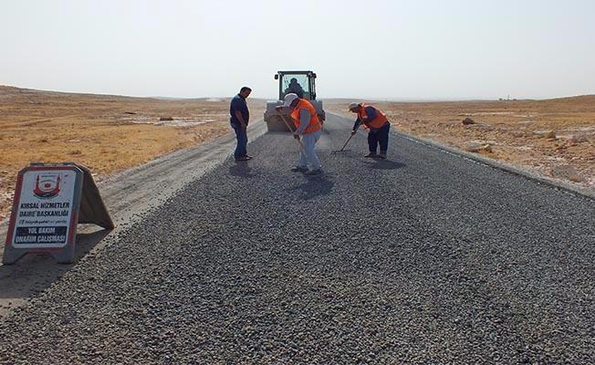 Viranşehir'de sathi asfalt çalışması