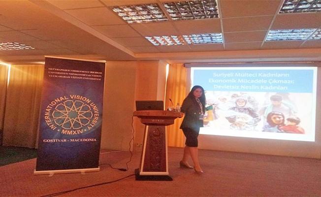 Zeynep Müjde Sakar, Makedonya'da Şanlıurfa'yı Anlattı