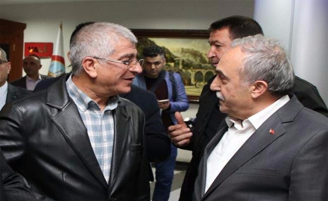 Bakan Fakıbaba, Erdoğan ile görüştü