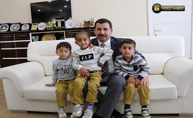 Baydilli ''Recep-Tayyip-Erdoğan''ı kardeşleri ağırladı