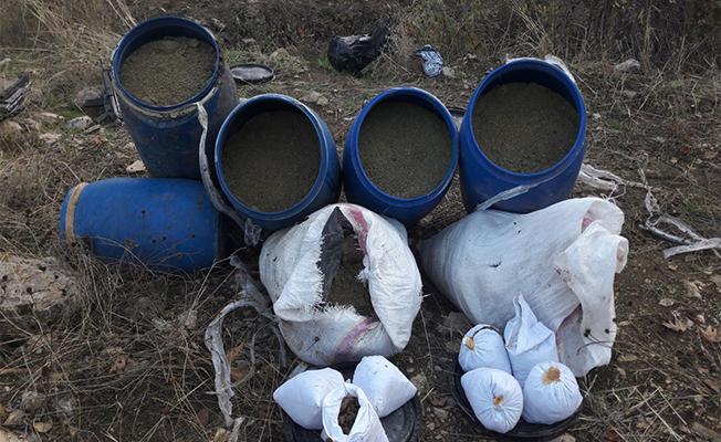 Diyarbakır'da 7 ton esrar ele geçirildi