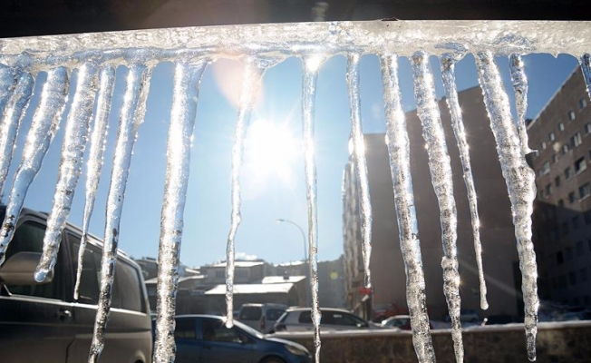 Doğuda hava sıcaklığı sıfırın altında 19 dereceyi gördü