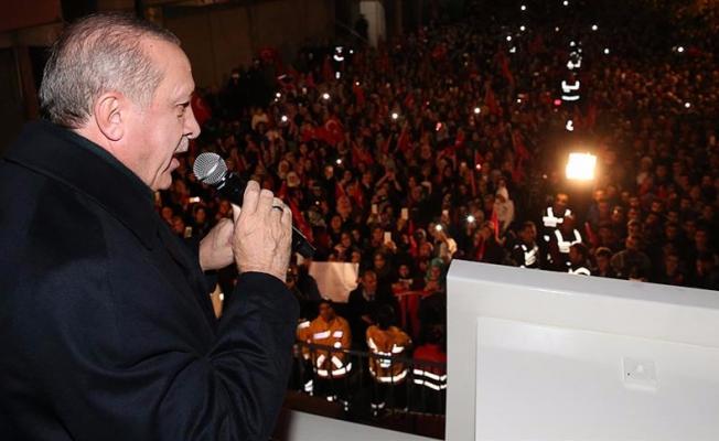 Erdoğan: 2019'da bir reform gerçekleştireceğiz