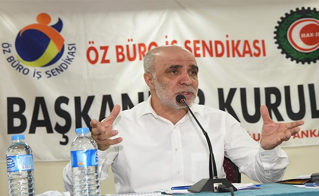 Gülbaba Şanlıurfa'da konuştu