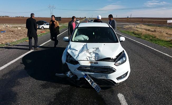 Hilvan'da trafik kazası: 6 yaralı
