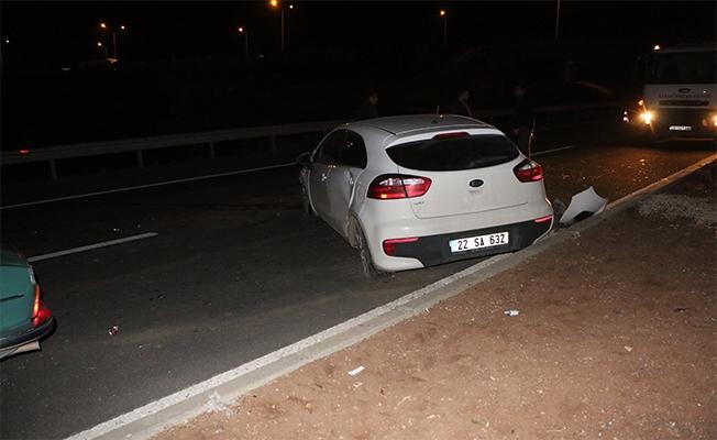 İki otomobil çarpıştı: 5 yaralı